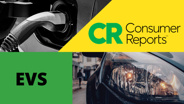 Consumer Reports EV Study / Recharge America