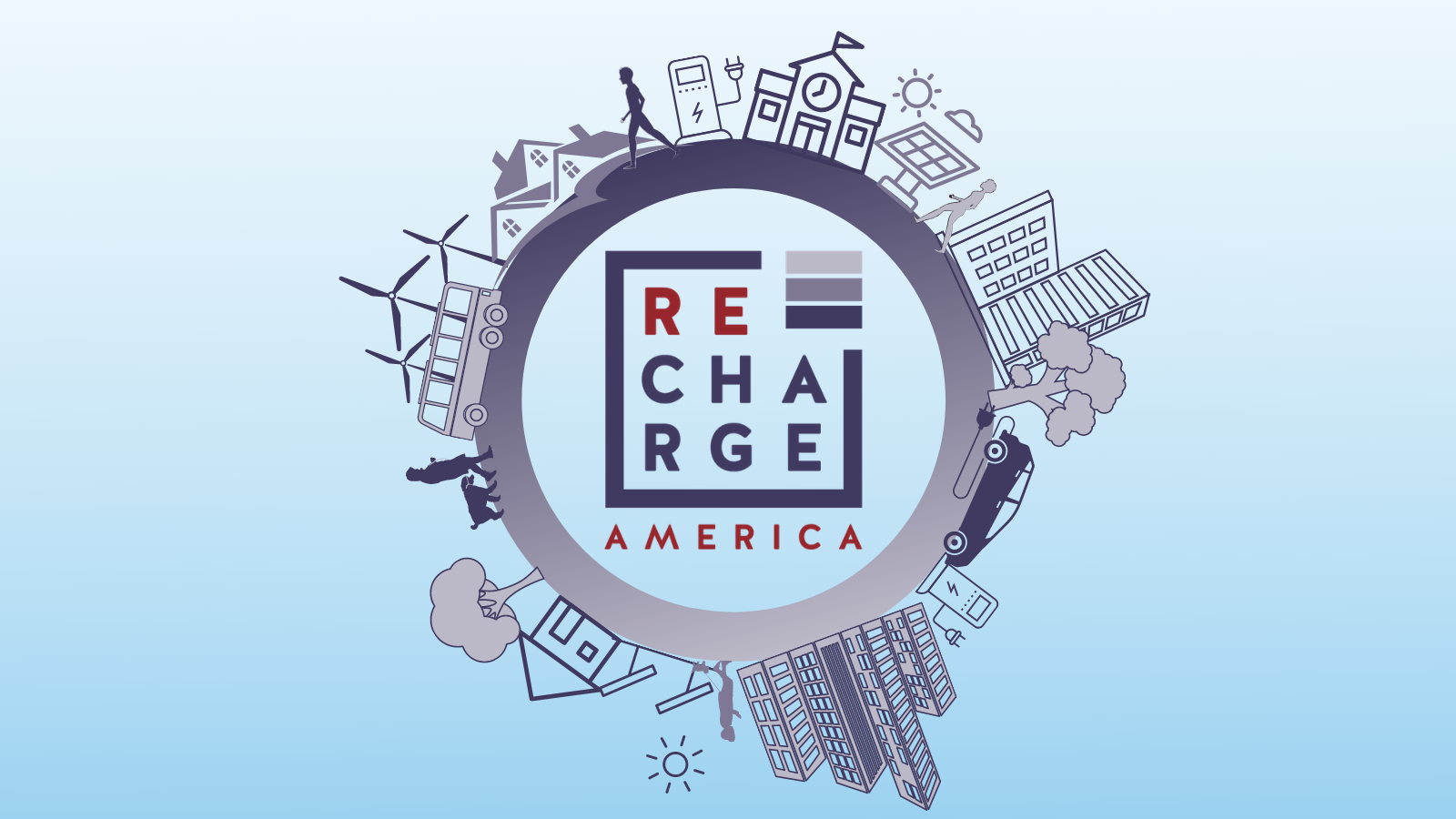 Recharge America: National nonprofit spotlighting the strategies, stories, and initiatives leading the charge with electric vehicles.